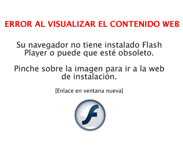 Web externa: Descargar Flash Player